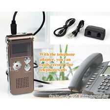 Hot Rechargeable 16GB LCD USB Digital Audio Voice Recorder Dictaphone MP3 Player