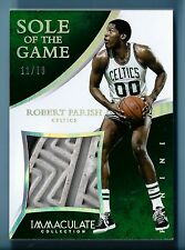 ROBERT PARRISH 2014/15 IMMACULATE COLLECTION SOLE OF THE GAME SHOE SOLE /19