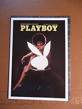 Blank greeting card Print of Playboy cover October 1971  NEW in cello