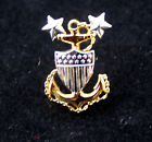 MASTER CHIEF PETTY OFFICER MCPO PIN UP US COAST GUARD COLLAR E-9 CHIEF GIFT WOW