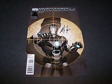 SIGNED NICK SPENCER IRON MAN 2.0 #4 WAR MACHINE UPCOMING MARVEL COMICS MOVIE 3