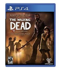 PLAYSTATION 4 PS4 GAME THE WALKING DEAD COMPLETE FIRST SEASON NEW SEALED