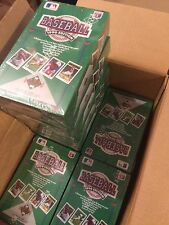 (4) 1990 Upper Deck Baseball Low Number Boxes * 36 packs/15 cards/Pack Sealed!