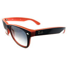 Ray-Ban Sunglasses New Wayfarer 2132 789/3F Blue & Orange White Gradient Blue