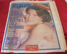 Rolling Stone March 10 1977 newspaper magazine Princess Caroline of Monaco
