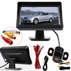 4.3'' TFT LCD Digital Color Car HD Rear view Parking Monitor For DVD VCR Camera