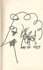 "KURT VONNEGUT ""Galapagos"" SIGNED FIRST UK EDITION with CARICATURE SELF-PORTRAIT"