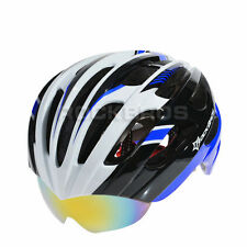 RockBros Helmet Unisex Road MTB Bike Cycling Helmet 57cm-62cm Blue White