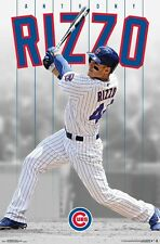 ANTHONY RIZZO - CHICAGO CUBS POSTER - 22x34 MLB BASEBALL 15149
