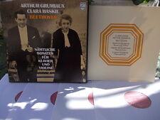BEETHOVEN: Complete violin & piano sonatas   Grumiaux Haskil / Philips 6733001