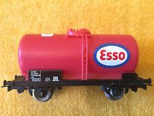 Wagon citerne ESSO SNCF JOUEF pour circuits trains électriques HO