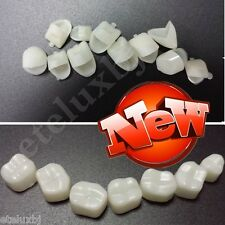 2 PACKS Dental Temporary Crown Material for Anterior Front Teeth and Molar Teeth