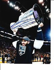 DWIGHT KING SIGNED LOS ANGELES KINGS CUP ABOVE HEAD 8X10