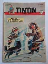 JOURNAL TINTIN n° 122  COUVERTURE DE F.CRAENHALS  22/02/1951