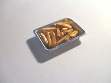 DOLLS HOUSE MINIATURE BAKING TIN OF OVEN CHIPS