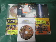 Lotted Jewel Quest, Drakensang, Star Wars Jedi Knight II, etc.  (PC)