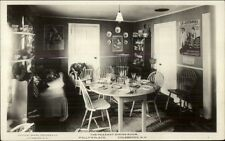 Colebrook NH Polly's Place Restaurant Interior c1915 Real Photo Postcard