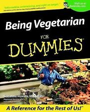 Being Vegetarian for Dummies by Suzanne Havala (2001, Paperback)