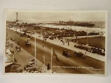 *ANTIQUE CENTRAL PROMENADE & BRITANNIA PIER GT YARMOUTH POSTCARD**