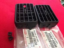 NEW! 1996-2002  4RUNNER  CENTER DASH HEATER VENTS AND  BEARINGS