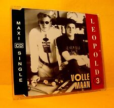 MAXI Single CD Leopold 3 Volle Maan 2 TR 1992 Euro House Synth-pop RARE