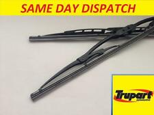 CITROEN ZX ESTATE 93-98 FRONT & REAR WINDSCREEN WIPER BLADES PAIR COMPLETE SET