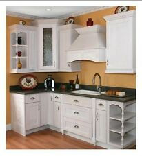 White Shaker Kitchen Cabinets 10x10 Birch and Ply RTAs Forevermark Cabinetry