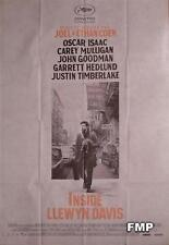 INSIDE LLEWYN DAVIS - COEN / MULLIGAN / TIMBERLAKE / ISAAC - LARGE MOVIE POSTER