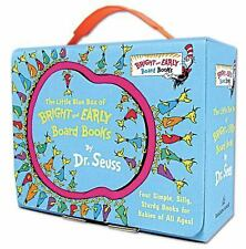 The Little Blue Box of Bright and Early Board Books by Dr. Seuss by Dr. Seuss...