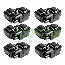Pack Of 6 Ignition Spark Coil Coils For Mercedes-Benz C CL CLK ML Class UF359