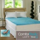 Beautyrest 3-inch Sculpted Gel Memory Foam Mattress Topper PICK- Queen King Full