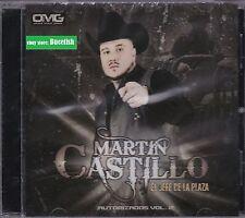 Martin Castillo El Jefe De La Plaza CD New Nuevo sealed