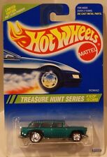 1995 Hot Wheels Treasure Hunt #10 Nomad Turbo Wheels Chevy '55 Classic