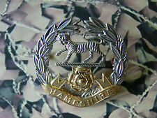 Hampshire Regiment Cap Badge (earlier one with no crown 1914)