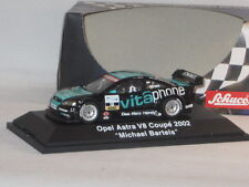 SCHUCO OPEL ASTRA V8 COUPE 2002 MICHAEL BARTELS 1:43