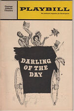 """Darling of the Day"" Playbill 1968 FLOP- Vincent Price"