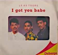 ++DEBARGE i got you babe/say you do SP 1987 MAZERES EX++