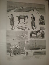 Notes from the combined Fleets of Great Powers Suda Bay Crete 1886 prints rf BW2