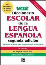 VOX Diccionario Escolar, 2nd Edition by Vox