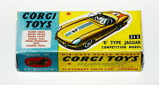 Reprobox Corgi Toys Nr. 312 - 'E' Type Jaguar Competition Model