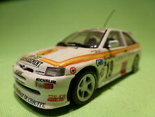 MINICHAMPS FORD ESCORT RS COSWORTH - RALLY MONTE CARLO 19 - RARE SELTEN - GOOD