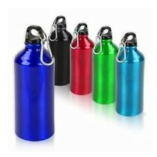 New Steel Metallic Sports Water Bottle 750ml Water Bottle Wit Colourful Gripper