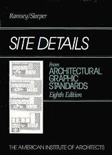 Ramsey/Sleeper Architectural Graphic Standards: Site Details from...
