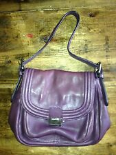 CALVIN KELIN 6 COMPARTMENTS MINI PURSE BAG PURPLE