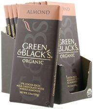 Green & Black's Organic - Almond Milk Chocolate Bar 37% Cocoa - 3.5 oz.