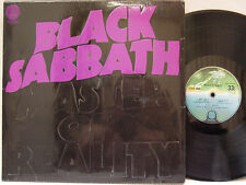 BLACK SABBATH - Master of Reality LP (RARE 2nd UK Pressing on VERTIGO w/Box Cvr)