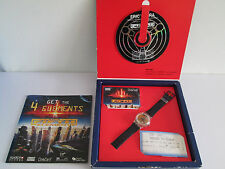 *WOW* SWATCH WATCH LIMITED EDITION THE FIFTH ELEMENT BOXED SET CINEMA TICKET