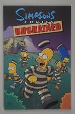 The Simpsons Comics Unchained book by Matt Groening Paperback Bart Homer Simpson