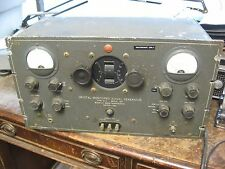 Vintage Boonton Radio Type 211-A Serial 103 Crystal Monitored Signal Generator