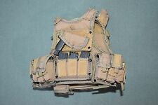"ACE 1:6 Tan Modern US Army Vest & Equipment Gear for 12"" Action Figures C-31"